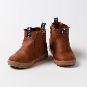 Cat & Jack brown toddler boots